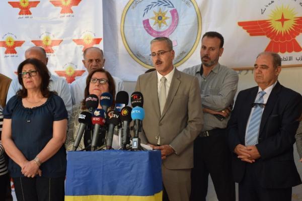 Süryani partiler: Türk devleti Hristiyanları Ortadoğu'dan çıkarmayı amaçlıyor