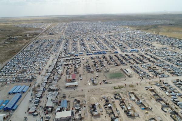 Uluslararası yardımın olmadığı Kuzey ve Doğu Suriye bir milyon göç aldı