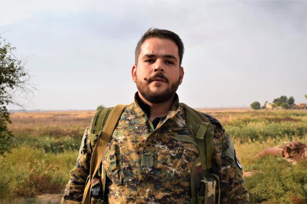Süryani Komutan: Türkiye'nin, DAİŞ katliamlarını tekrarlanmasına izin vermeyeceğiz