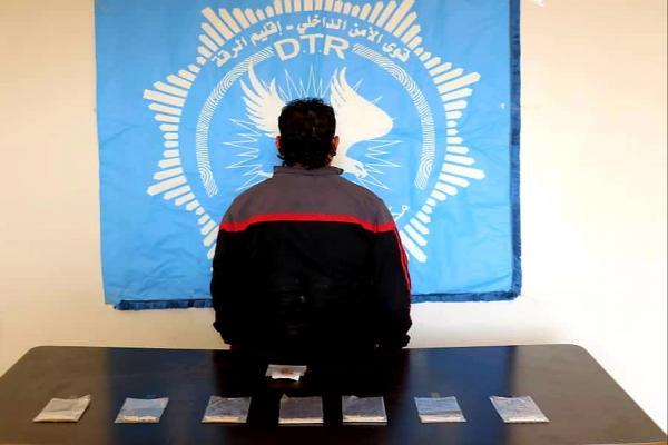Tebqa'da uyuşturucu madde ticareti yapan bir kişi yakalandı