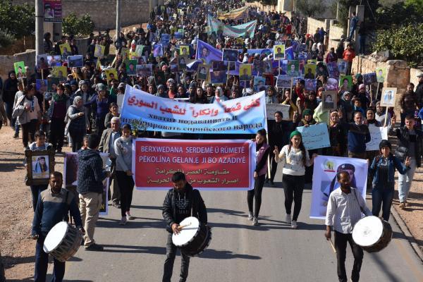 'Çağın Direnişi ve Onur Direnişi, halkların özgürlük ısrarının kanıtıdır'