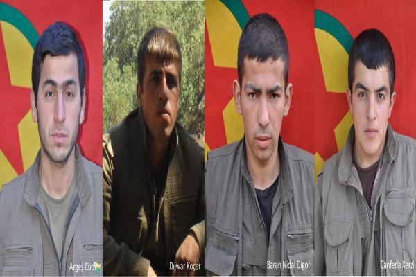 HPG, Heftanin ve Zap şehitlerinin kimlikleri açıklandı