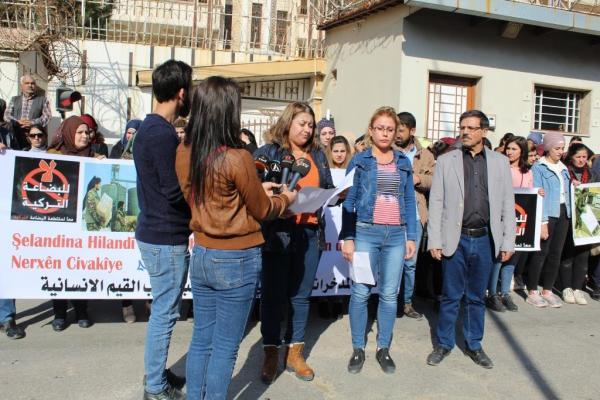 Ekonomi Komitesi Serêkaniyê ve Girê Spî'deki talan raporunu açıkladı