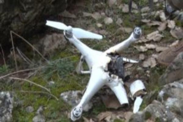 HPG, Iğdır'da çetelere ait 1 drone düşürdü