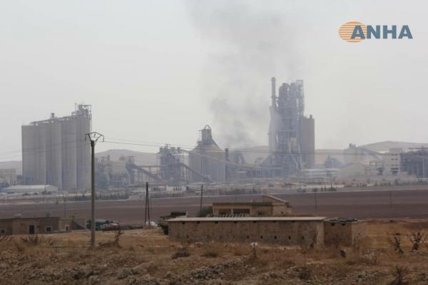 Şergirak buğday ambarına Suriye rejimi konuşlandı