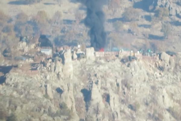 Heftanin'deki eylemin görüntüleri yayınlandı