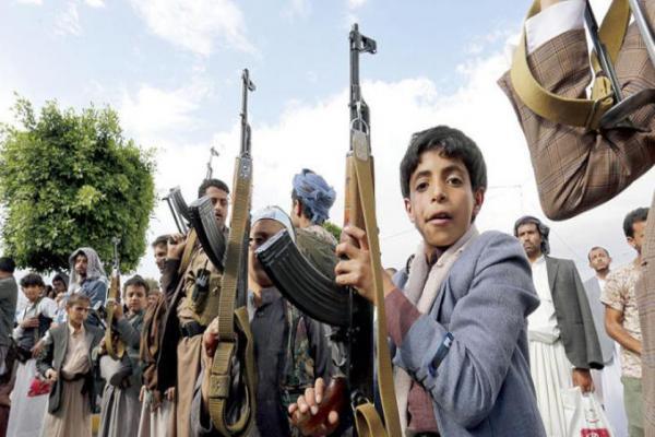 Yemen'de 6 bin 353 çocuk silahaltına alındı