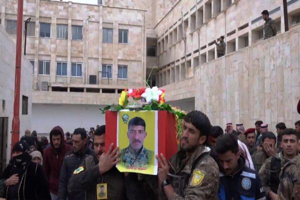 QSD savaşçısı Ebû Qasim Tebqa'da sonsuzluğa uğurlandı