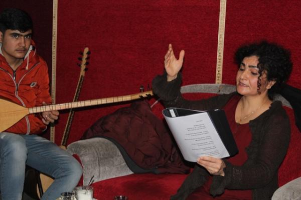 Mizgîn Tahir: Sanatımızla Rojava halkına destek olacağız