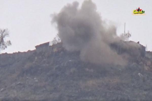 Heftanin'deki eylemin görüntüleri Gerîla TV'de yayınlandı