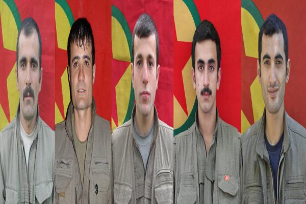 HPG: Yoldaşlarımız Kürdistan fedaisi olmayı başarmıştır