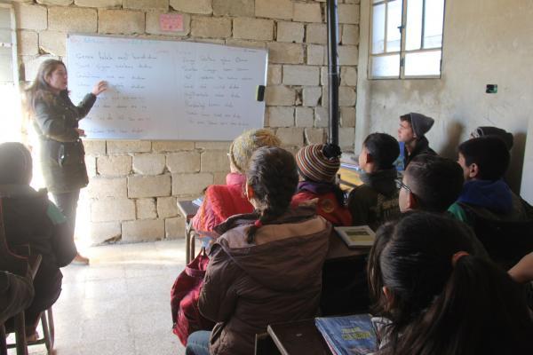 Şehba'da 2019-2020 eğitim öğretim yılının 2'nci dönemi başladı