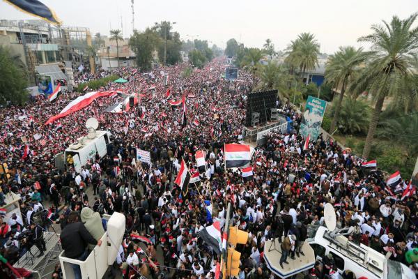 Irak'ta protestoculara şiddetli müdahale