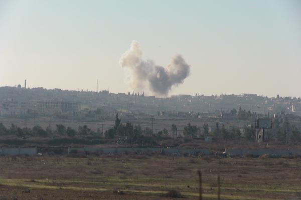 Halep'te rejim güçleri ile çeteler arasında çatışma