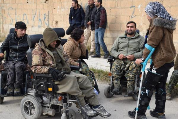 Kuzey ve Doğu Suriye Gaziler Federasyonu merkezini açtı