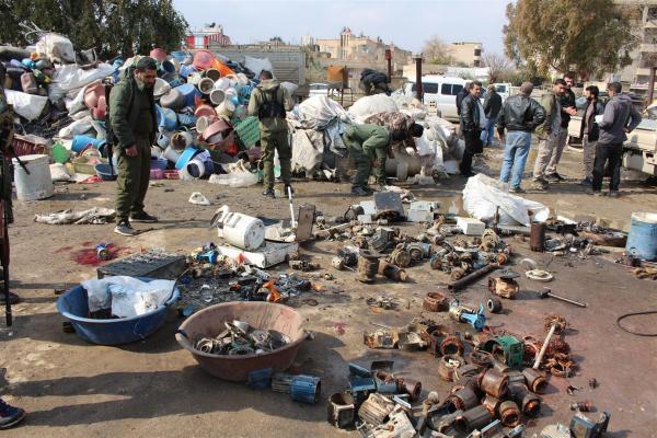 Qamişlo'da plastik deposunda patlama: İki kişi yaşamını yitirdi