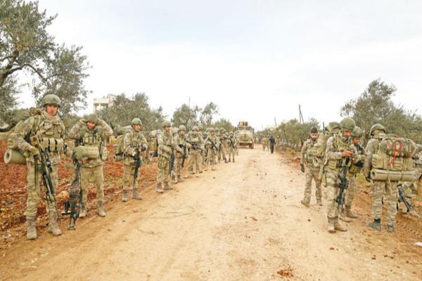SOHR: İdlib ve Halep kırsalında 7 bin 300 Türk askeri konuşlu