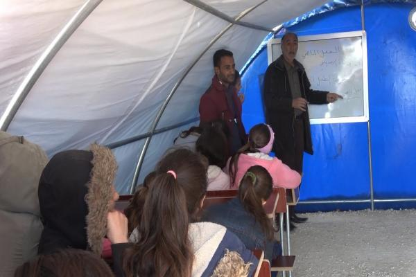 Girê Spî Kampı'nda öğrenciler ihtiyaçlarına kavuştu