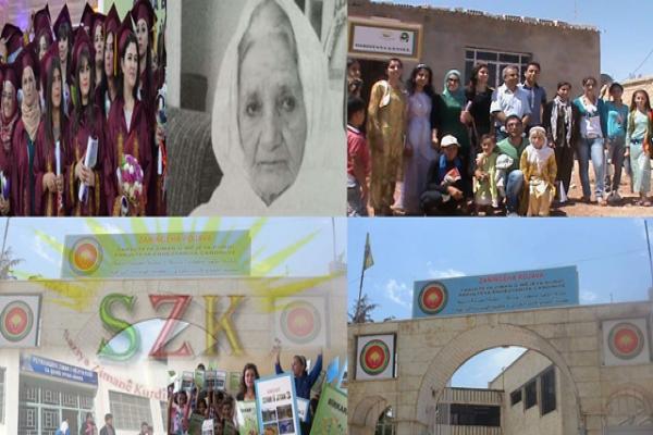 Rojava'da Kürt dili için büyük emekler verildi