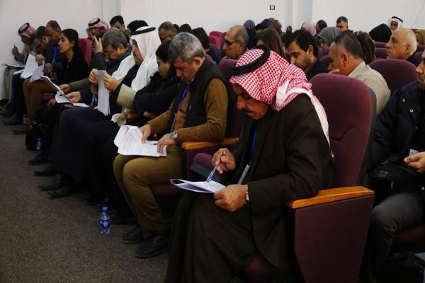 Reqa'da sivil toplum kurumlarının kuruluş toplantısı gerçekleşti