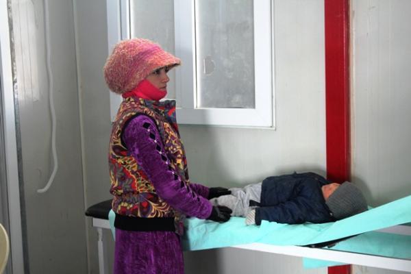 Erîşa Kampı'na ücretsiz sağlık hizmeti