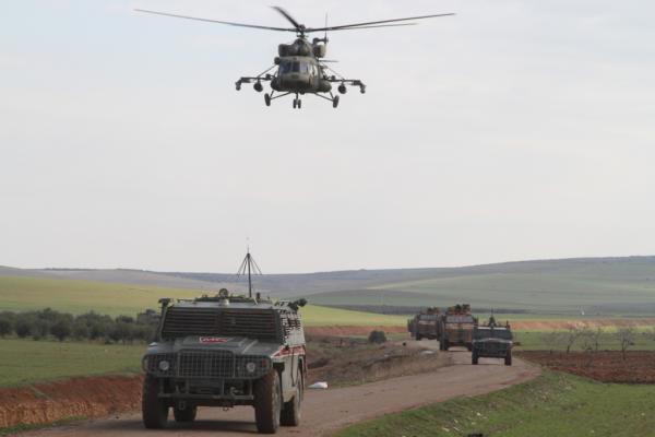 Kobanê'de işgalci Türk devleti ve Rusya'dan ortak kara devriyesi