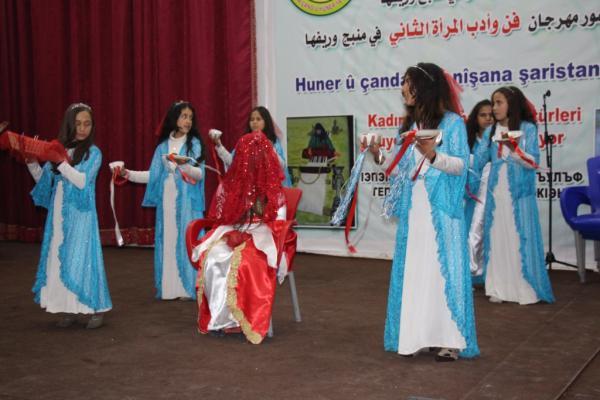 Minbic 2. Kadın Edebiyat ve Sanat Festivali bugün başladı