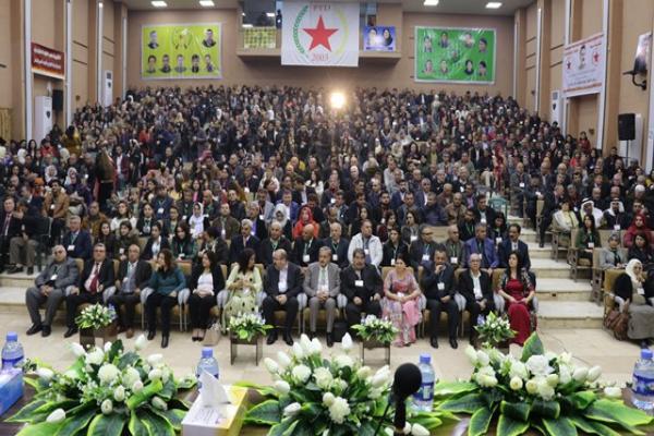 PYD kongresinin birinci gün oturumu tamamlandı
