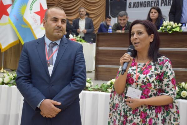 PYD'nin yeni eş başkanları Ayşe Hiso ve Enver Müslim kimdir?