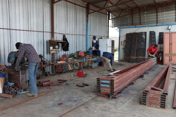Girke Legê'de sanayi öz kaynaklarla gelişiyor