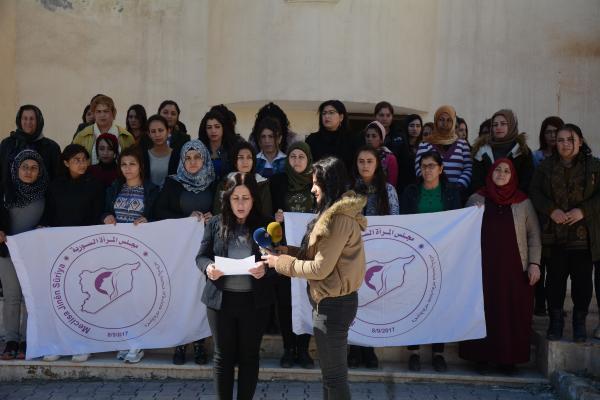 Suriye Kadın Meclisi, Huda Ehmed Ali ve oğlunun katledildiği olayı kınadı