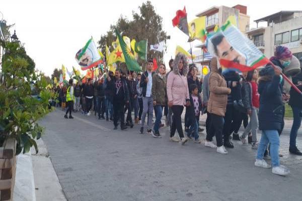 Avrupa, Öcalan için alanlara çıktı