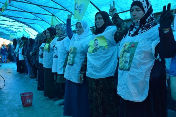 Qamişlo'daki BM temsilciliği önünde eylem devam ediyor