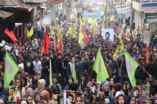 Kuzey ve Doğu Suriye'de halklar ayakta: İmralı'dan haber alınana dek eylemdeyiz