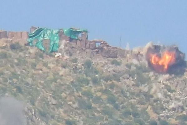 Xakurkê'de eylem: 1 mevzi imha edildi, 2 asker öldürüldü