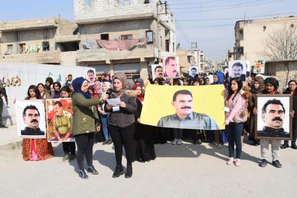 Minbic halkından Öcalan'ın durumuna açıklık getirilmesi talebi