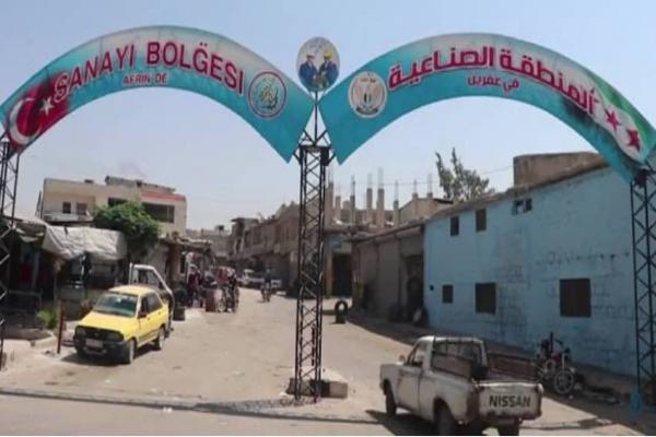 'Türk devleti Efrîn'de Kürtlerin işyerlerine el koydu'