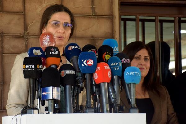 Îlham Ehmed: QSD ile Türk ordusu arasında tutuklu takası anlaşması yok
