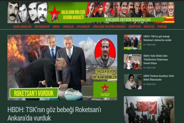 HBDH: TSK'nın göz bebeği ROKETSAN'ı Ankara'da vurduk