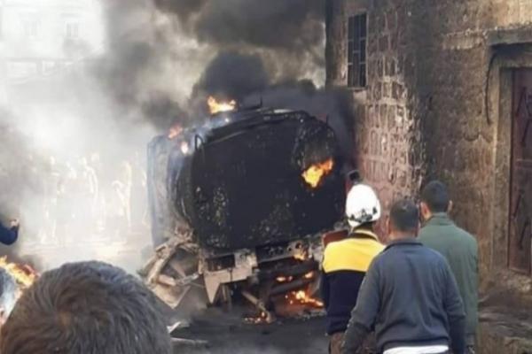 Efrîn kent merkezinde patlama
