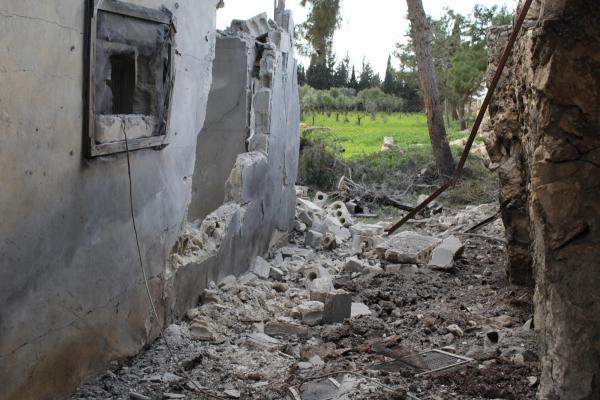 Şehba'daki Efrinliler Türk devletinin saldırılarına tepki gösterdi