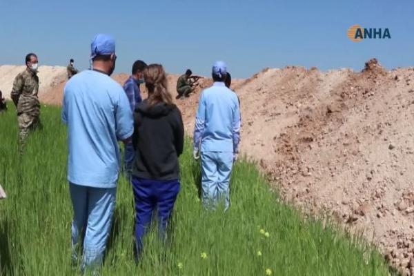 Sağlık ekipleri Koronavirüs hakkında savaşçıları bilgilendirildi