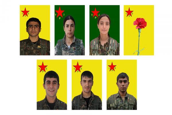 YPG 2016'da şehit düşen 7 savaşçıyı andı