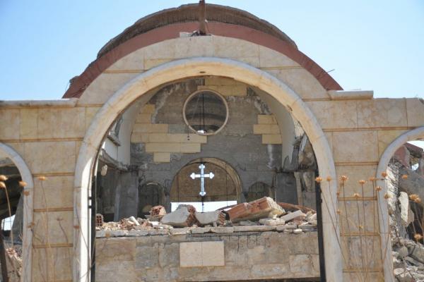 DAİŞ ve Türk tehdidi karşısında Asuri 'Habur Muhafızları' savaşçıları tetikte
