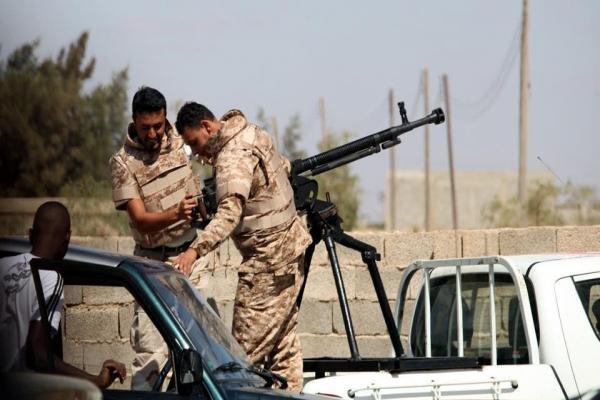 Libya Ulusal Ordusu Misrata'ya operasyon hazırlığında