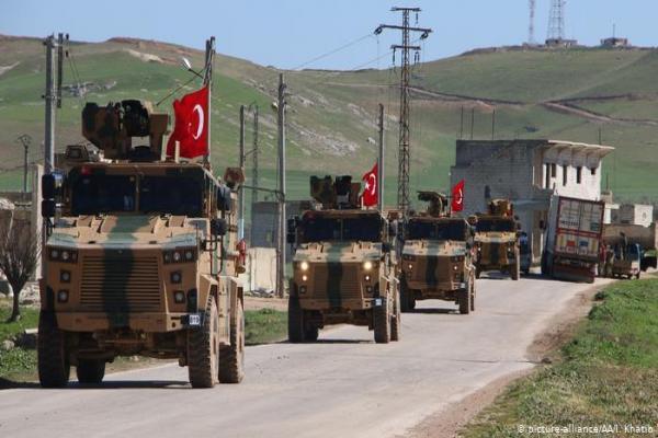 SOHR: İdlib'de Türk devletinin bir askeri ve bir subayı yaralandı