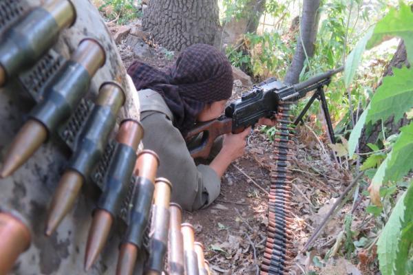 HPG gerillalarından Heftanin'den Amanoslar'a bir dizi eylem