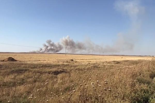 Türk devleti Til Temir'de bir kez daha halkın tarlalarını yaktı