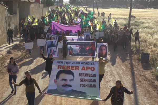 Şehba'da binler Türk devletine karşı yürüdü