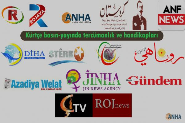 Kürtçe basın-yayında tercümanlık ve handikapları